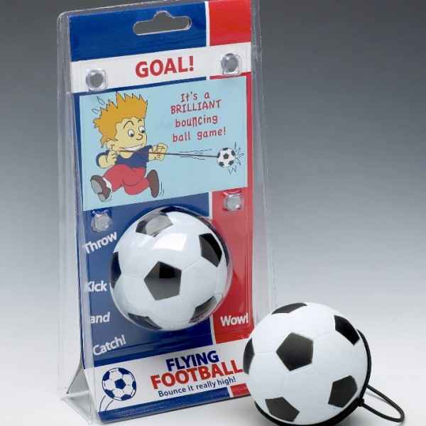 flying football