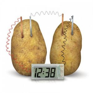 Classic Potato powered Clock